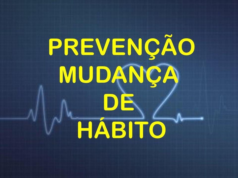 Colesterol PREVENÇÃO MUDANÇA DE HÁBITO