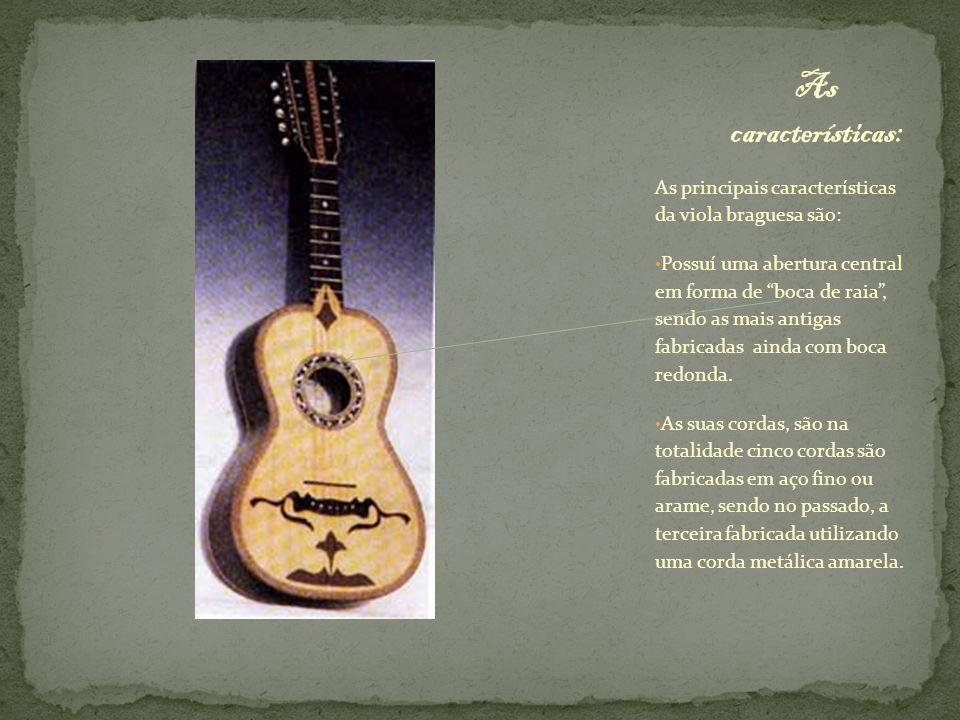 As características: As principais características da viola braguesa são: