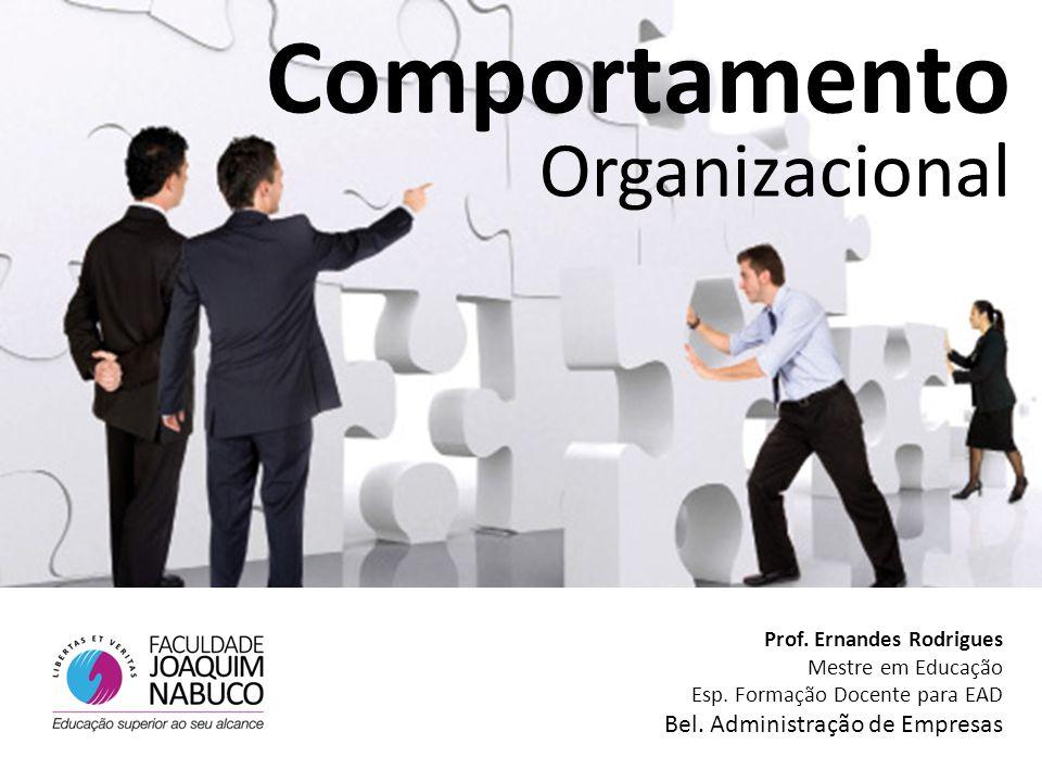 Comportamento Organizacional Bel. Administração de Empresas