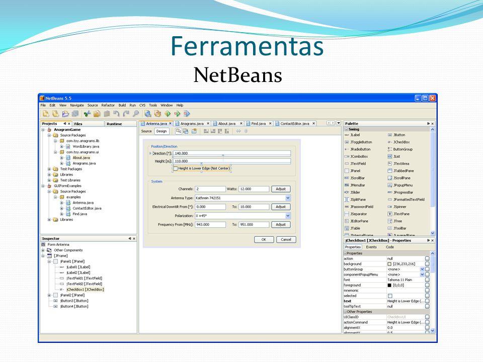 Ferramentas NetBeans