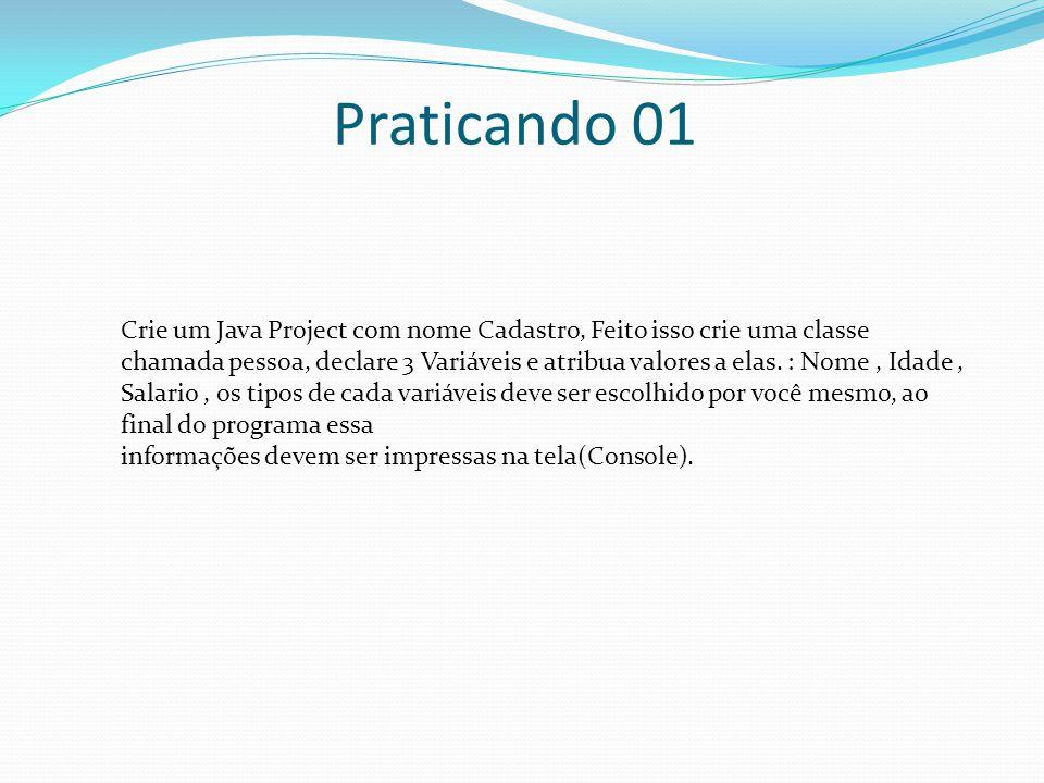Praticando 01