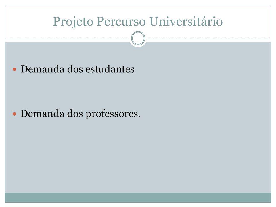 Projeto Percurso Universitário