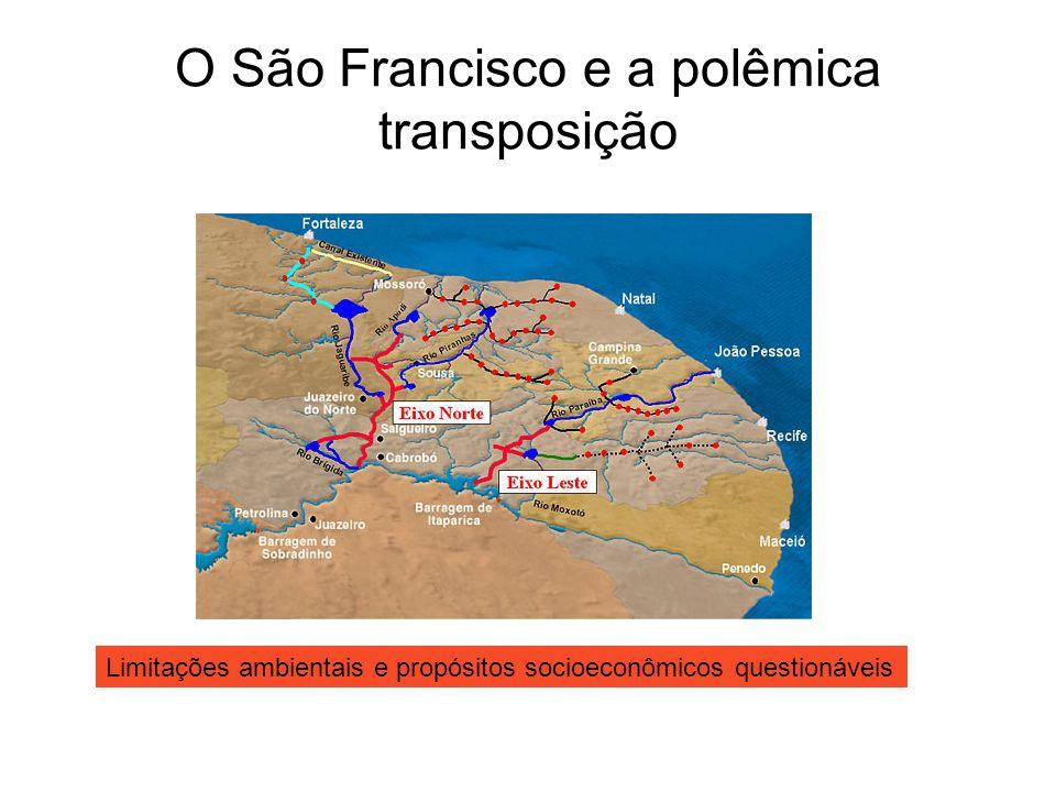O São Francisco e a polêmica transposição