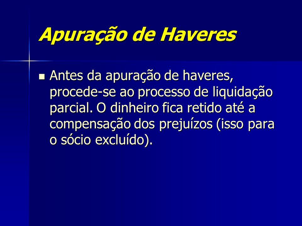 Apuração de Haveres