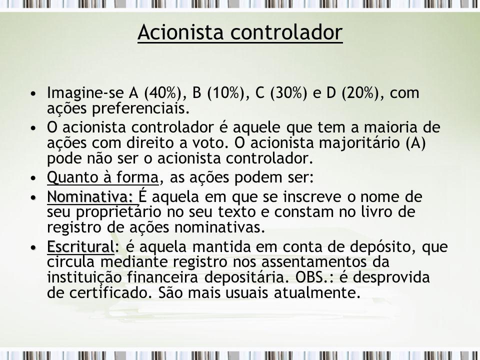 Acionista controlador