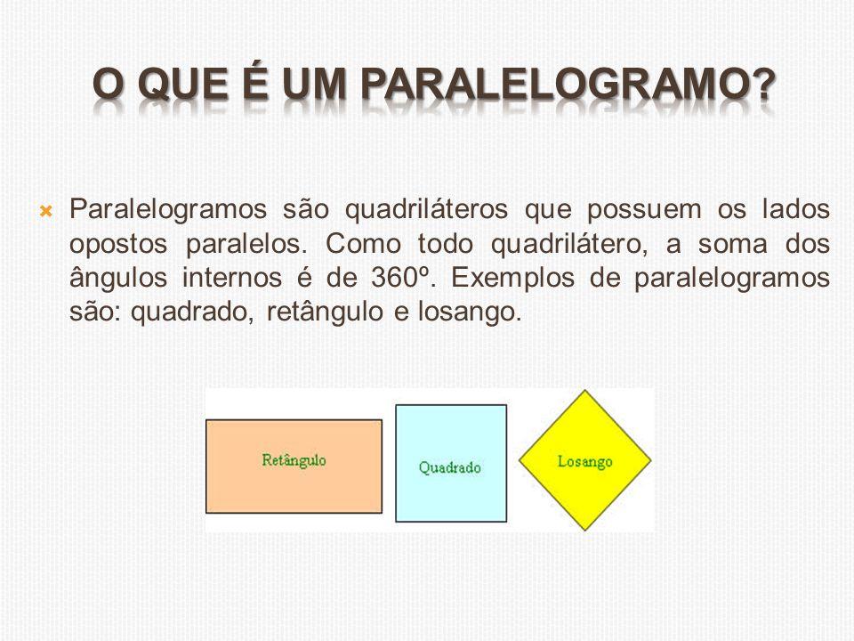O que é um paralelogramo