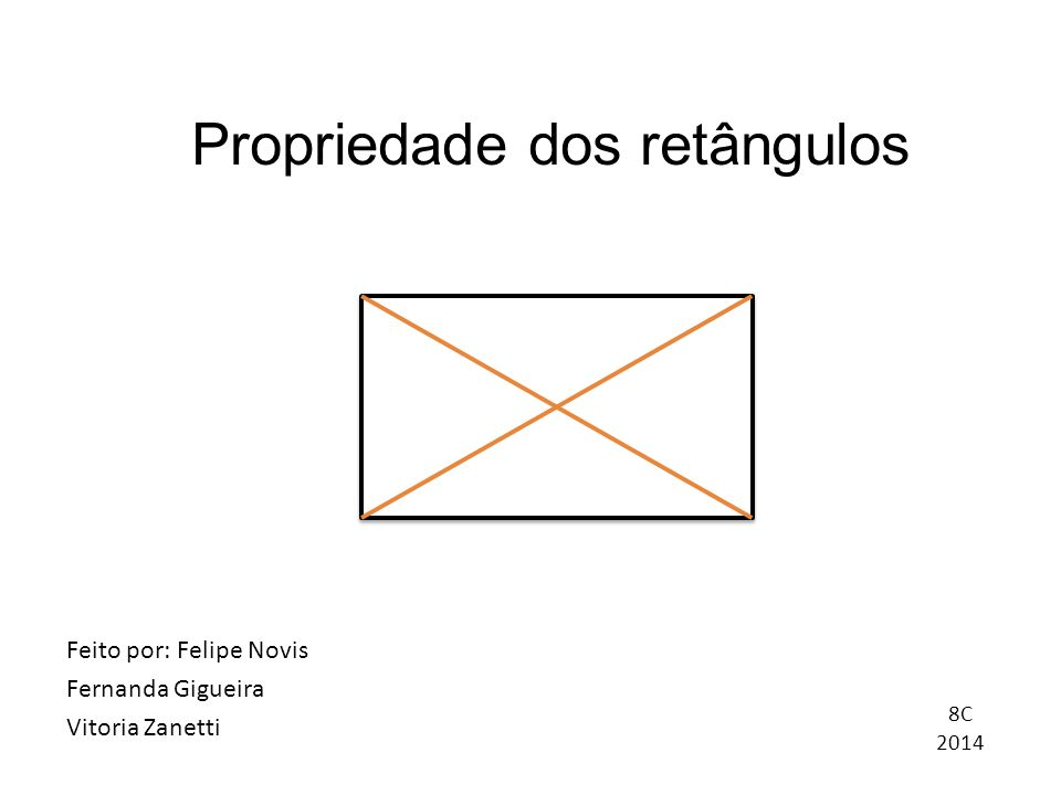 Propriedade dos retângulos