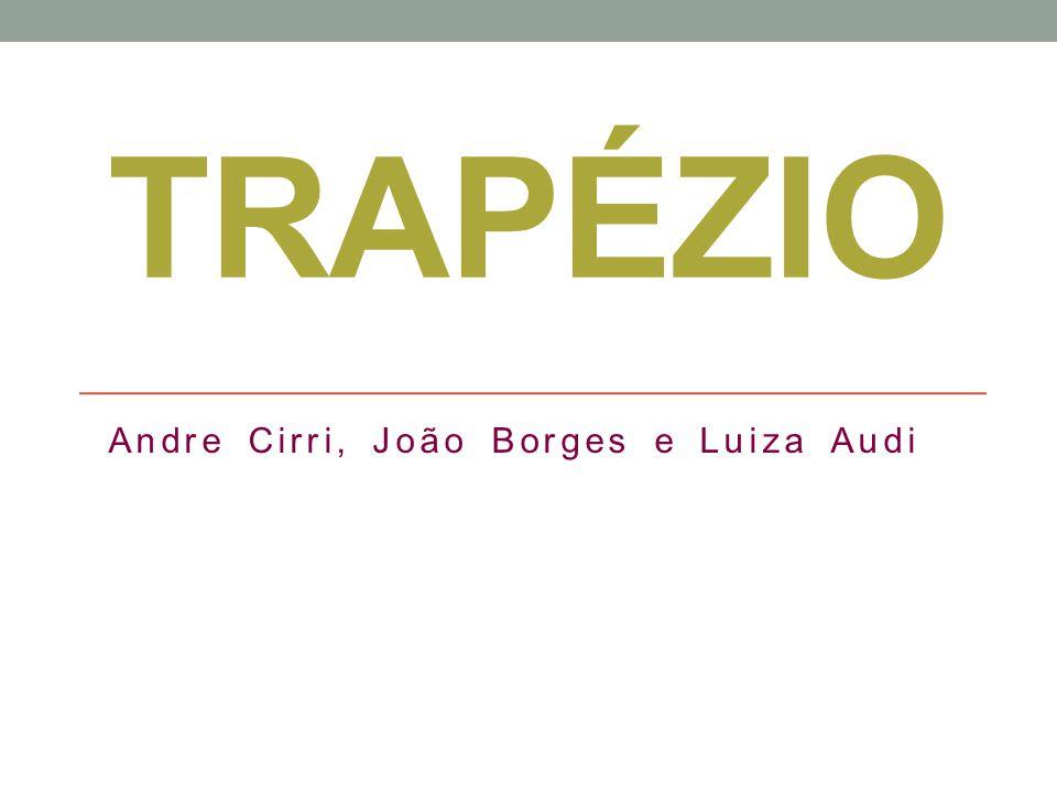 Andre Cirri, João Borges e Luiza Audi
