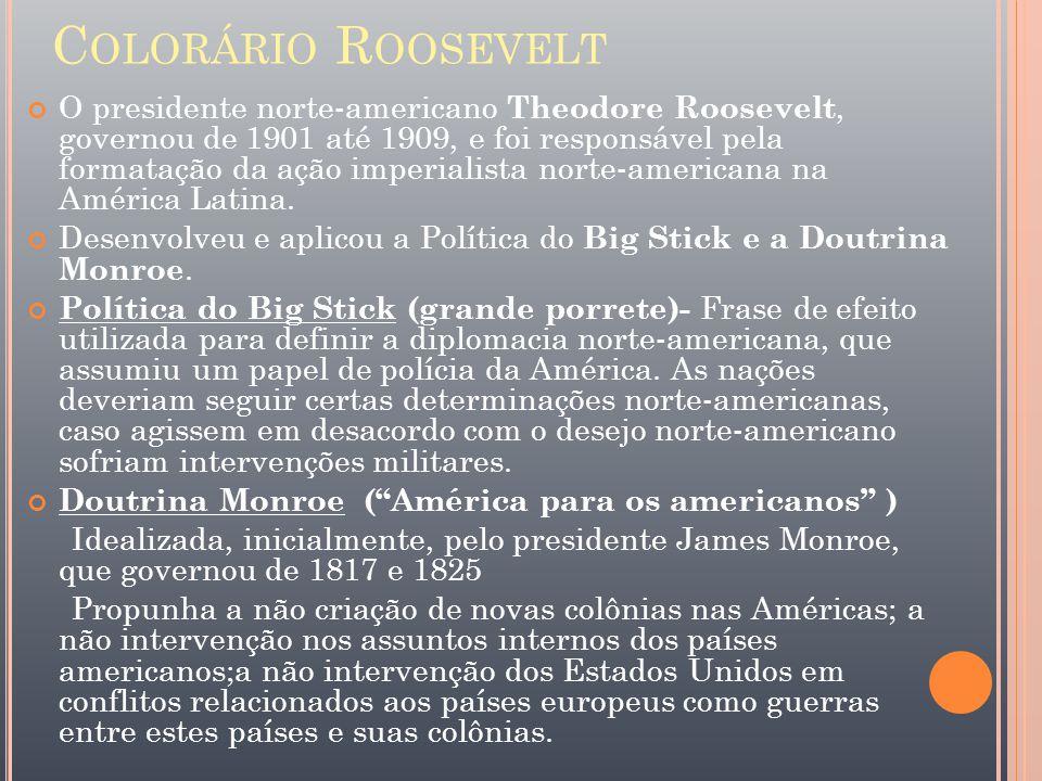 Colorário Roosevelt