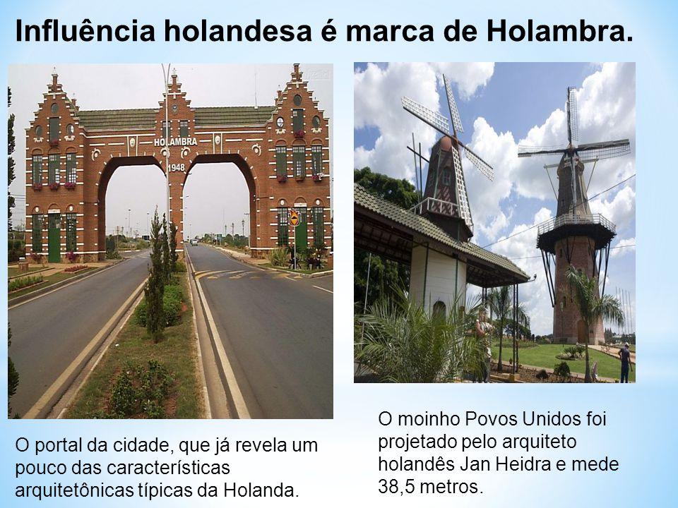 Influência holandesa é marca de Holambra.