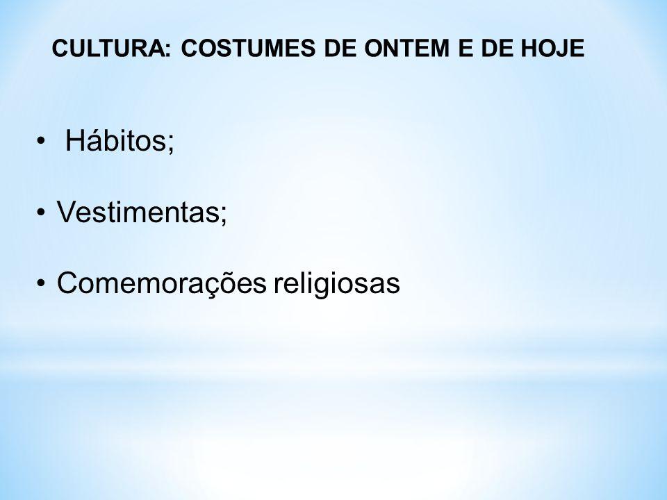 Comemorações religiosas