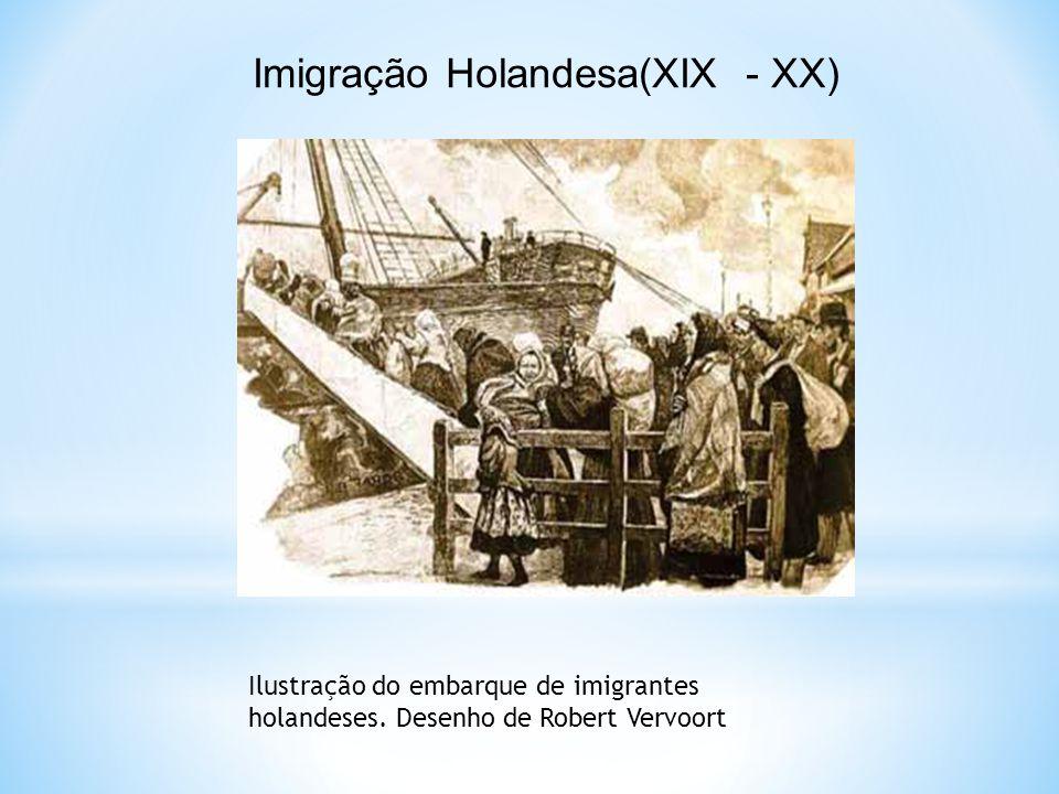 Imigração Holandesa(XIX - XX)