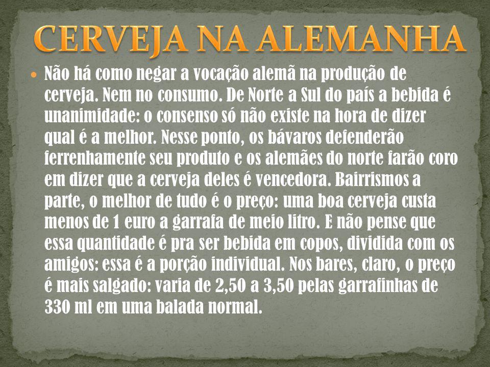 CERVEJA NA ALEMANHA