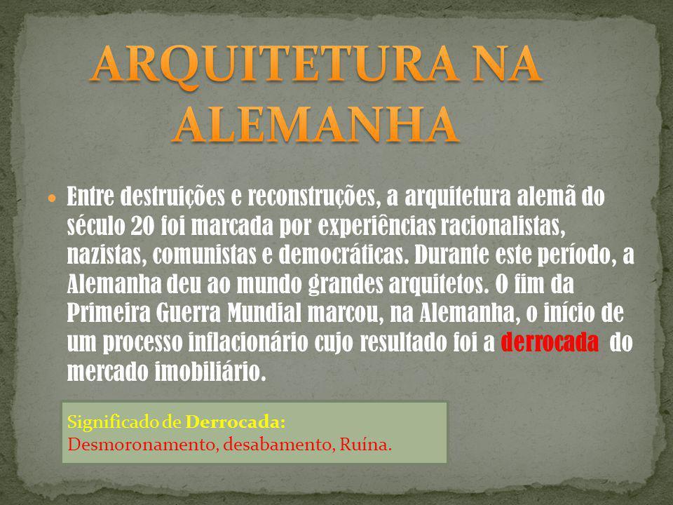 ARQUITETURA NA ALEMANHA