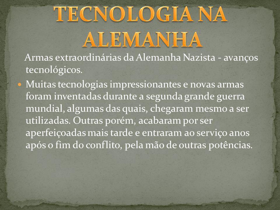 TECNOLOGIA NA ALEMANHA