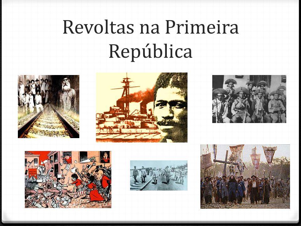 Revoltas na Primeira República