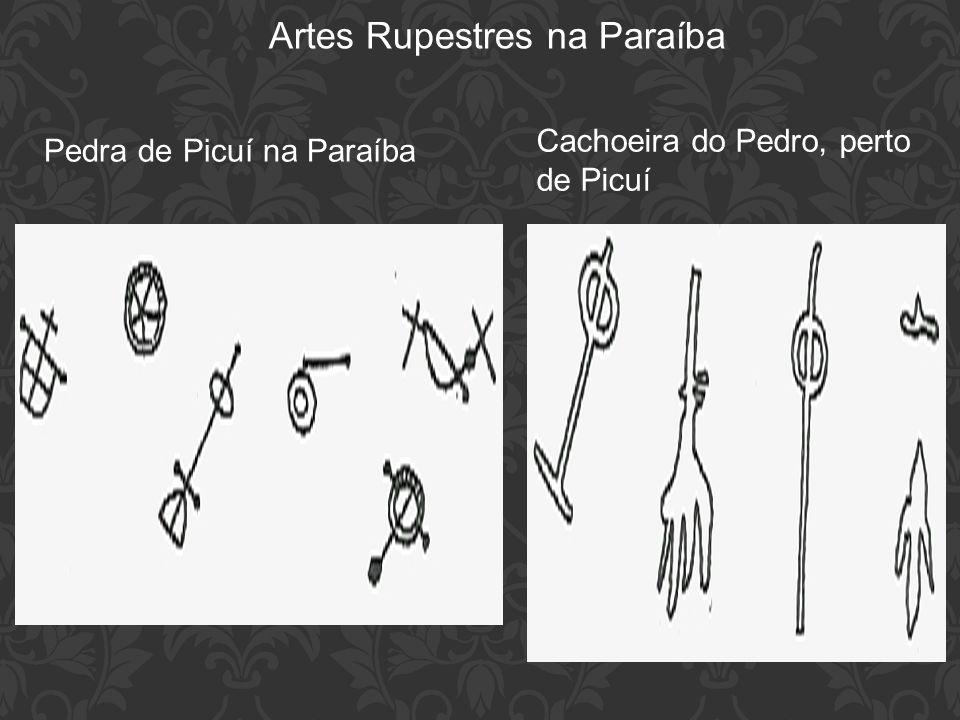 Artes Rupestres na Paraíba