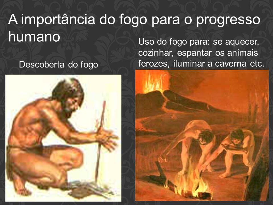 A importância do fogo para o progresso humano