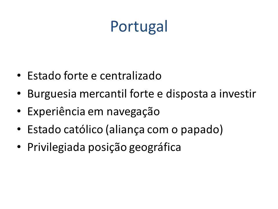 Portugal Estado forte e centralizado