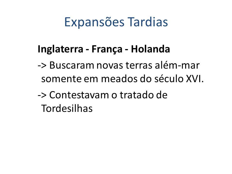 Expansões Tardias