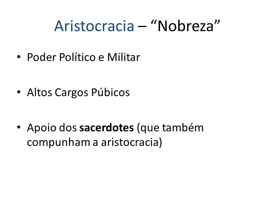 Aristocracia – Nobreza