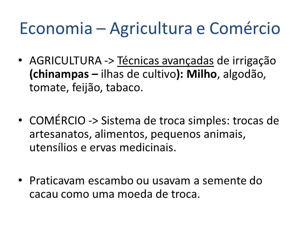Economia – Agricultura e Comércio