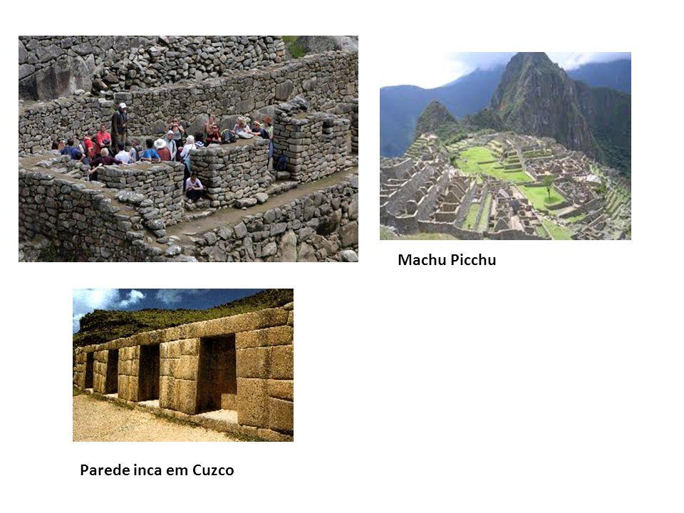 Machu Picchu Parede inca em Cuzco