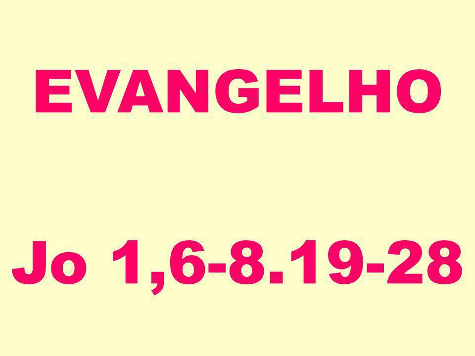 EVANGELHO Jo 1,6-8.19-28