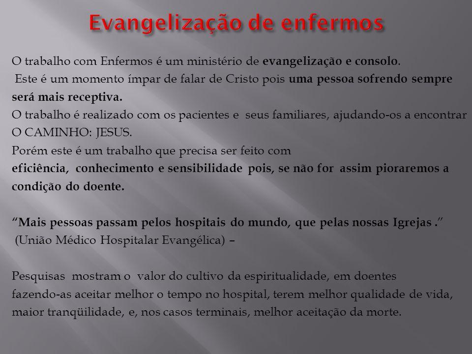 Evangelização de enfermos