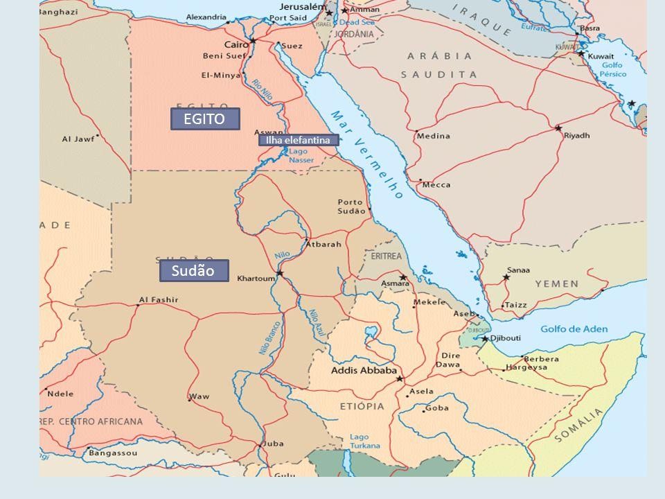 S EGITO Ilha elefantina Sudão