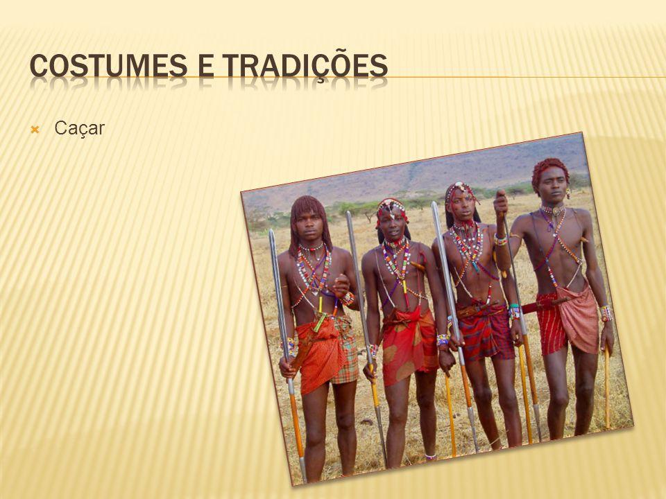 Costumes e tradições Caçar