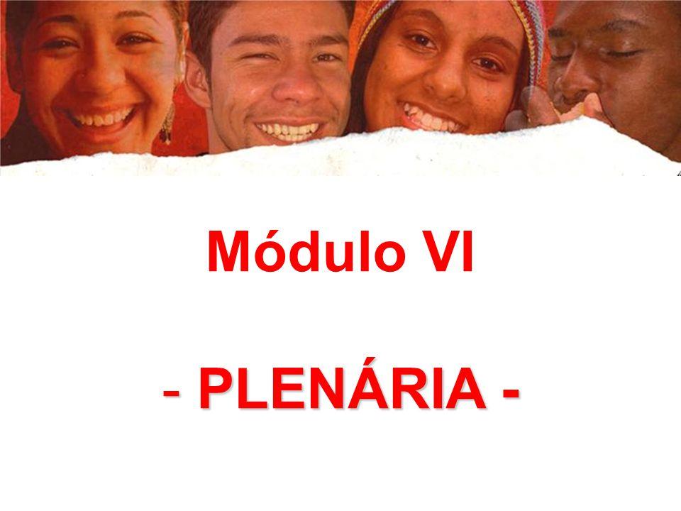 Módulo VI PLENÁRIA -