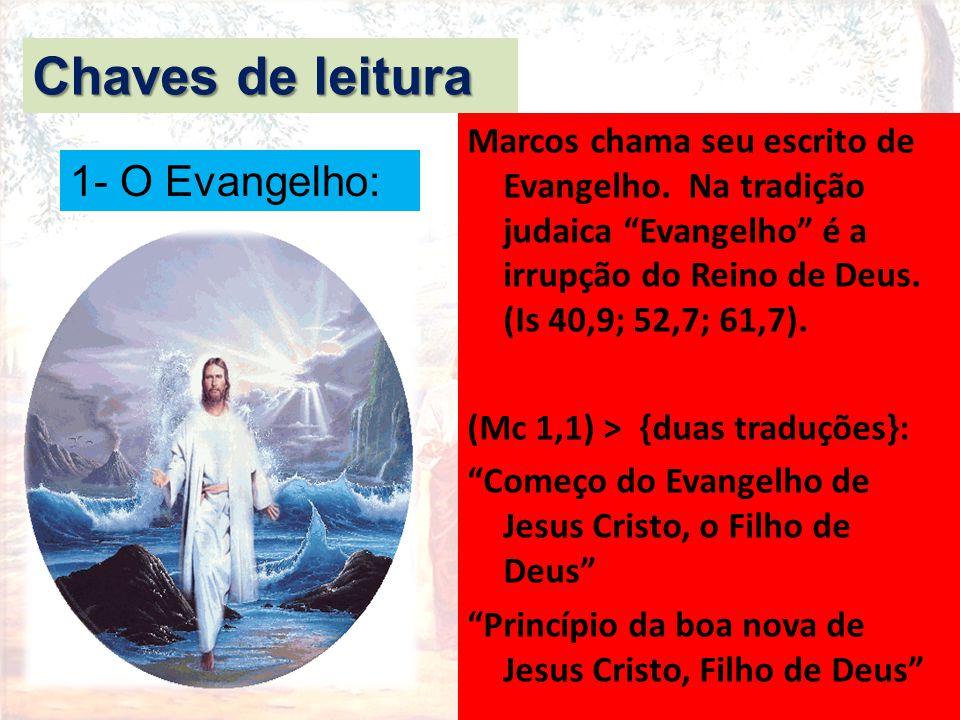 Chaves de leitura 1- O Evangelho: