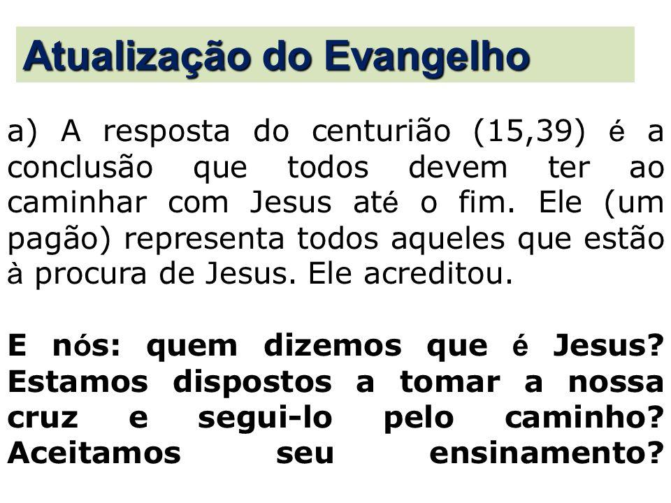 Atualização do Evangelho