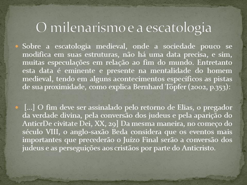 O milenarismo e a escatologia