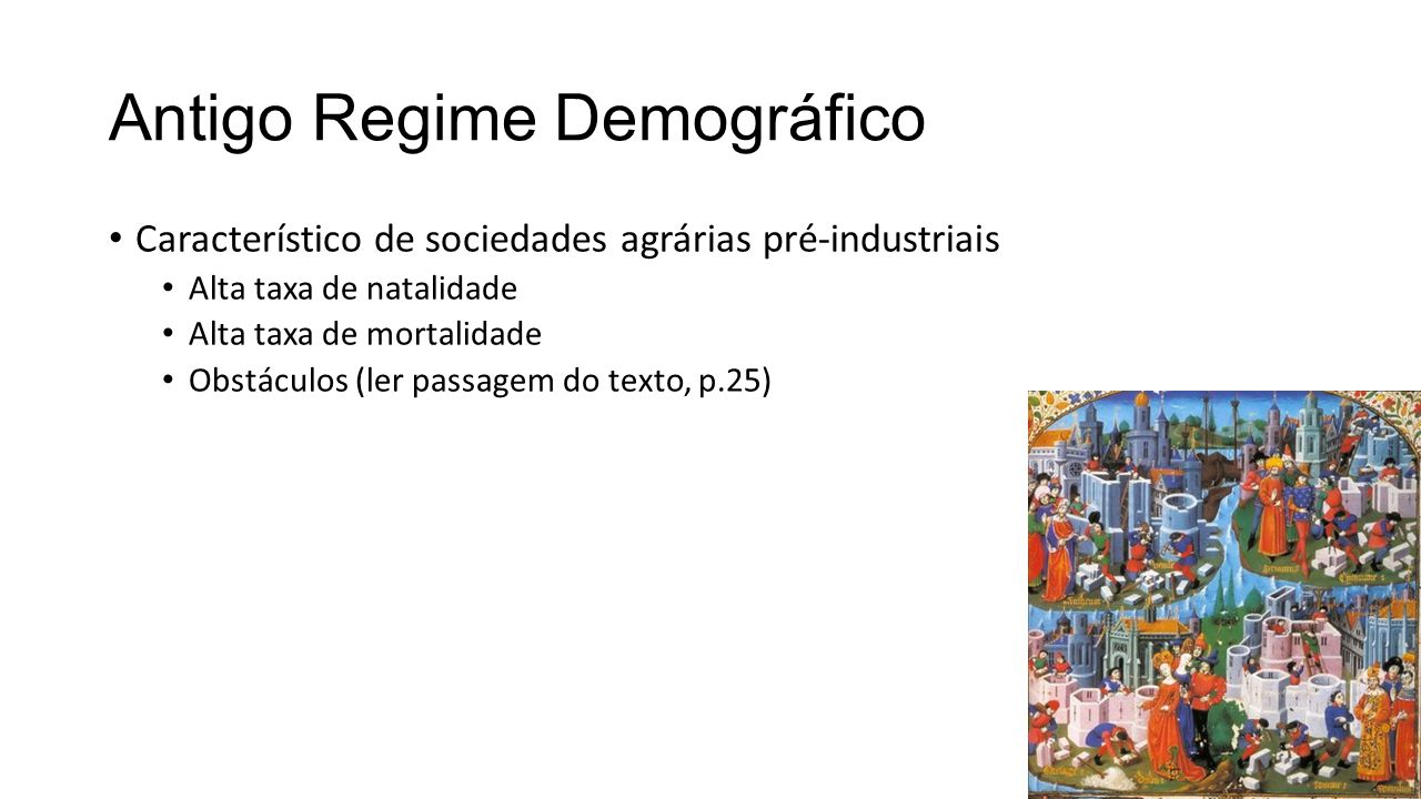 Antigo Regime Demográfico