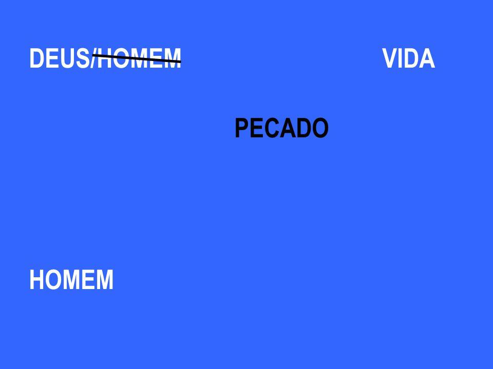 DEUS /HOMEM VIDA PECADO HOMEM