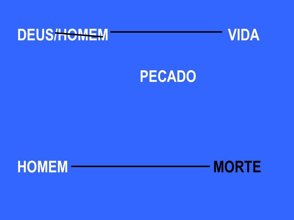 DEUS /HOMEM VIDA PECADO HOMEM MORTE