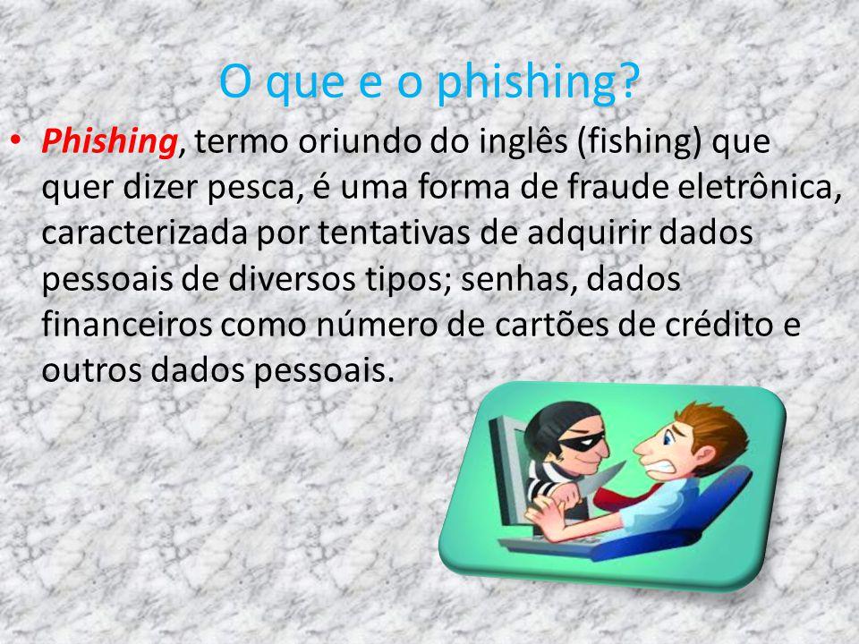 O que e o phishing