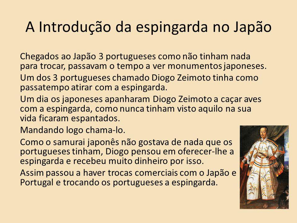 A Introdução da espingarda no Japão