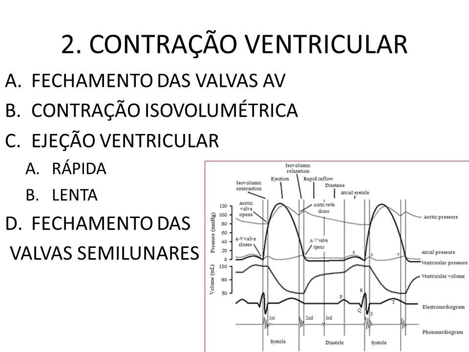2. CONTRAÇÃO VENTRICULAR