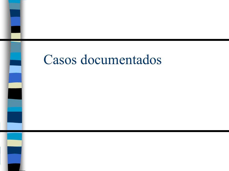 Casos documentados