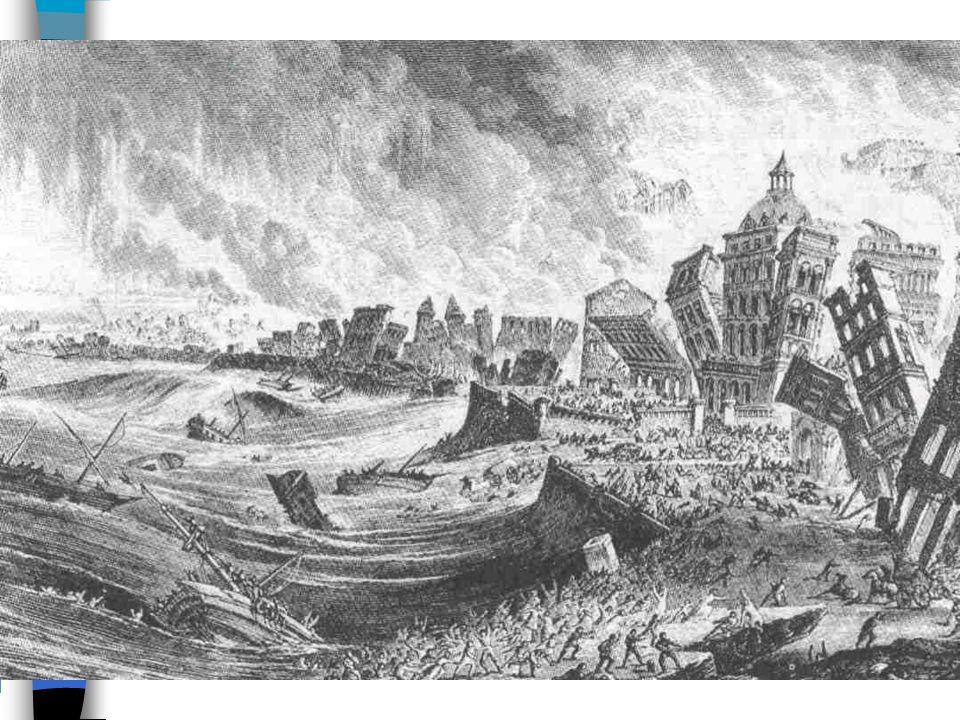 Terramoto em 1755, Lisboa.