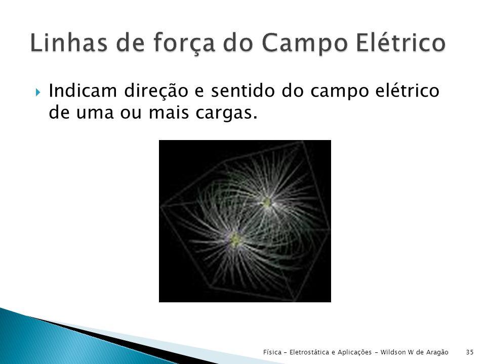 Linhas de força do Campo Elétrico