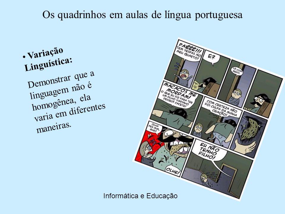 Variação Linguística: