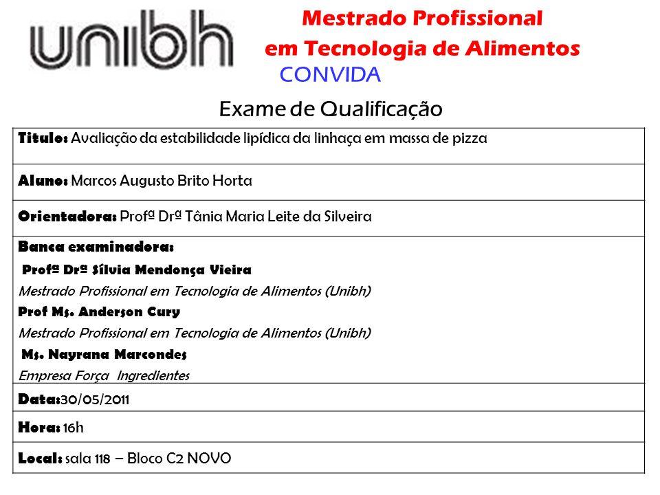 CONVIDA Exame de Qualificação