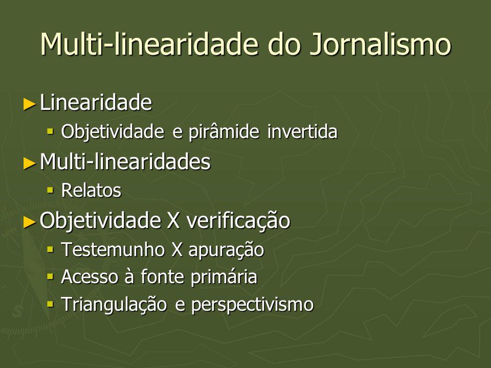 Multi-linearidade do Jornalismo
