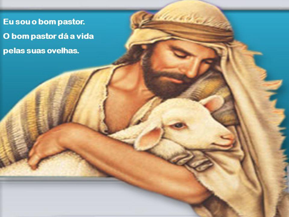Eu sou o bom pastor. O bom pastor dá a vida pelas suas ovelhas.