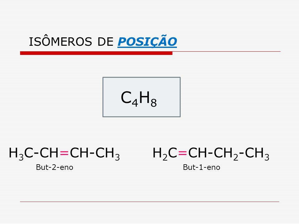 C4H8 H3C-CH=CH-CH3 H2C=CH-CH2-CH3