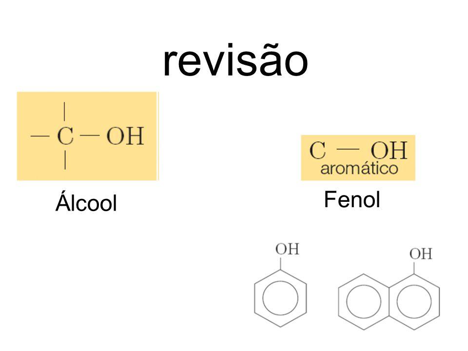 revisão Fenol Álcool
